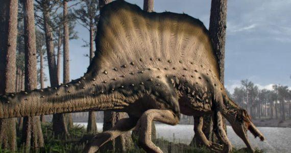 El primer dinosaurio semiacuático