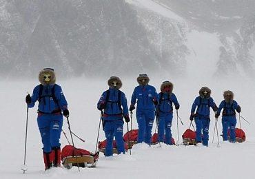 El primer grupo conformado solo por mujeres logran cruzar la Antártida