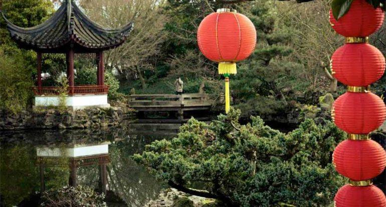 El primer jardín chino fuera de China