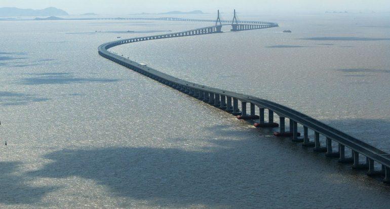 El puente más largo de Asia