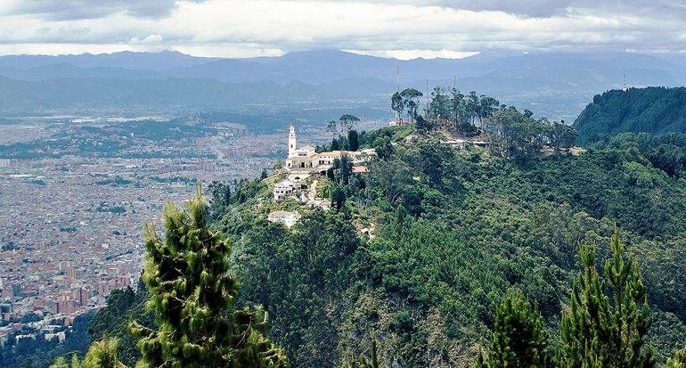 El santuario de Monserrate tiene la mejor vista de Bogotá