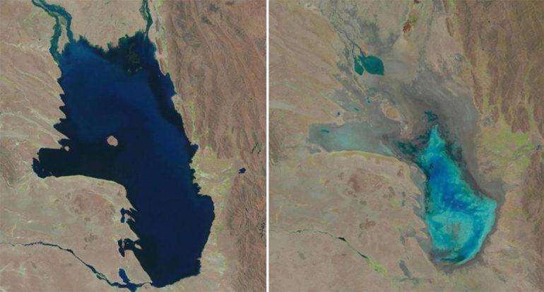 El segundo lago más grande de Bolivia se secó ¿Hay salvación?