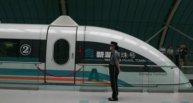 El tren más veloz del mundo