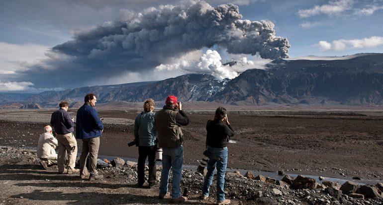 El volcán popular