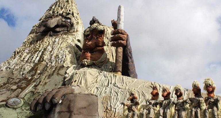 En el hogar del trol más grande del mundo