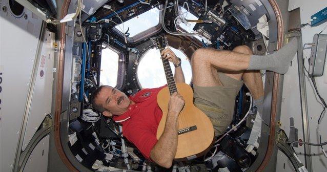 En las botas de un astronauta