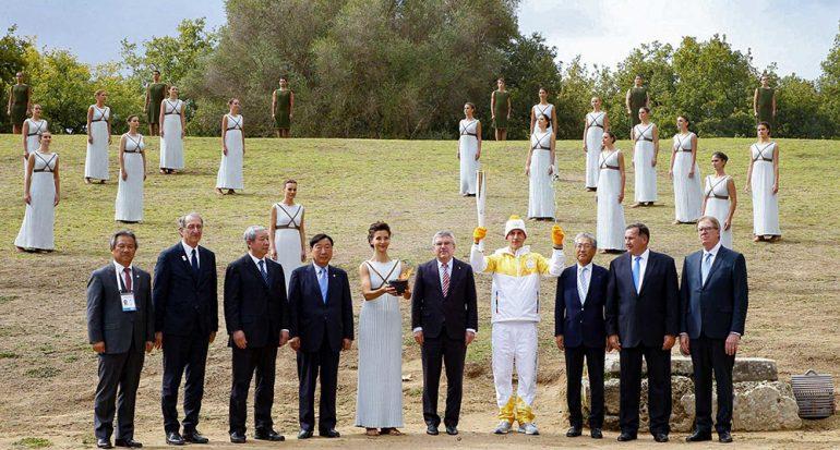 Encienden en Grecia la llama de los Juegos Olímpicos de Invierno