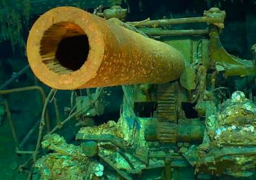 Encuentran el portaaviones de la Segunda Guerra Mundial que buscaba EUA