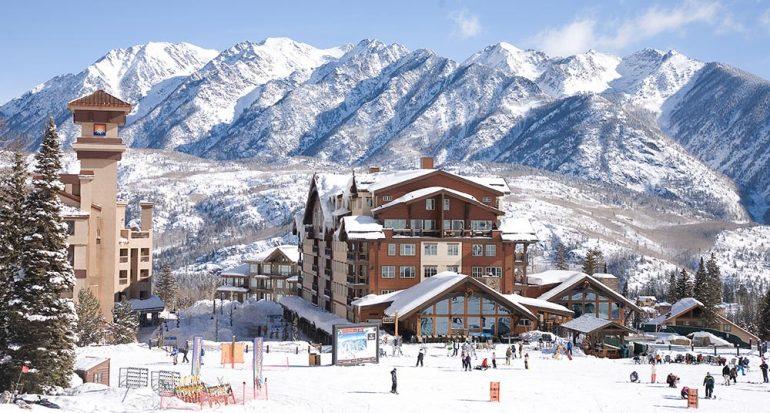 Entre el cielo y la tierra: esquiar en Purgatory