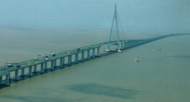 Es el puente más largo del planeta