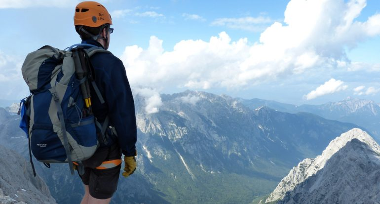 Escalando el monte Triglav