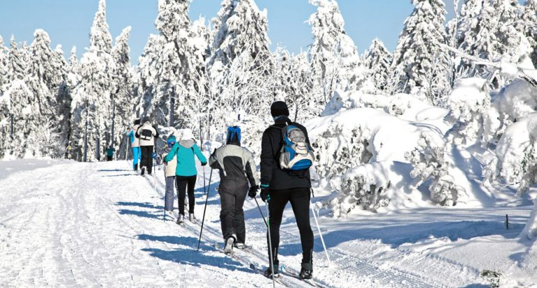 Esquí y baños termales en Jáchymov