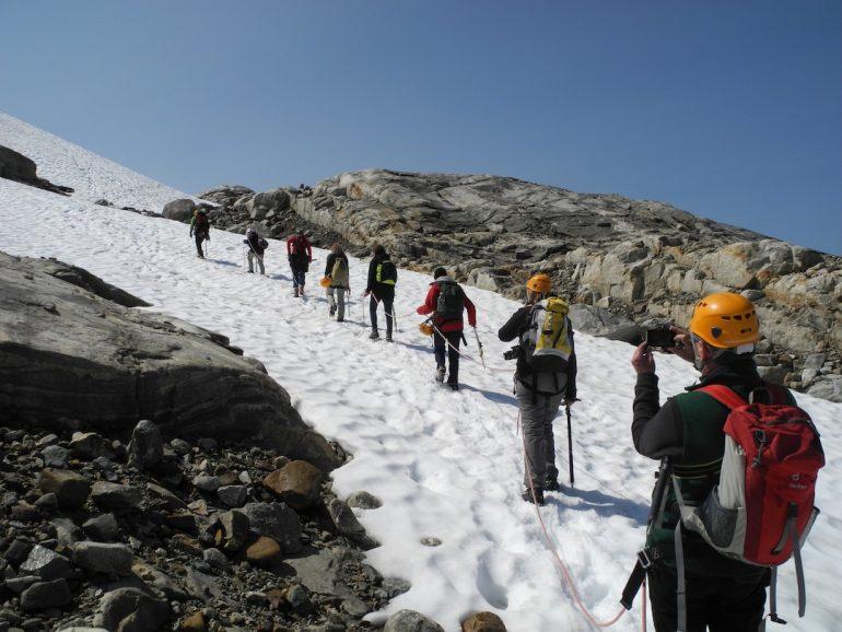 Excursión por el glaciar Folgefonna