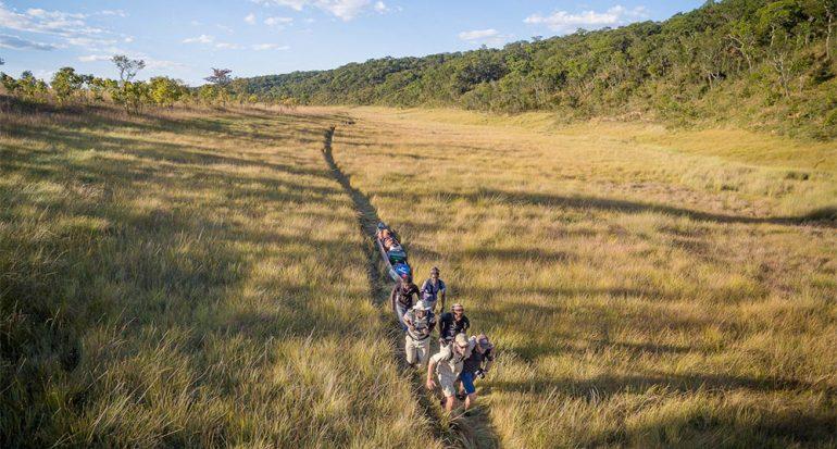 Expedición en el humedal más extenso de África