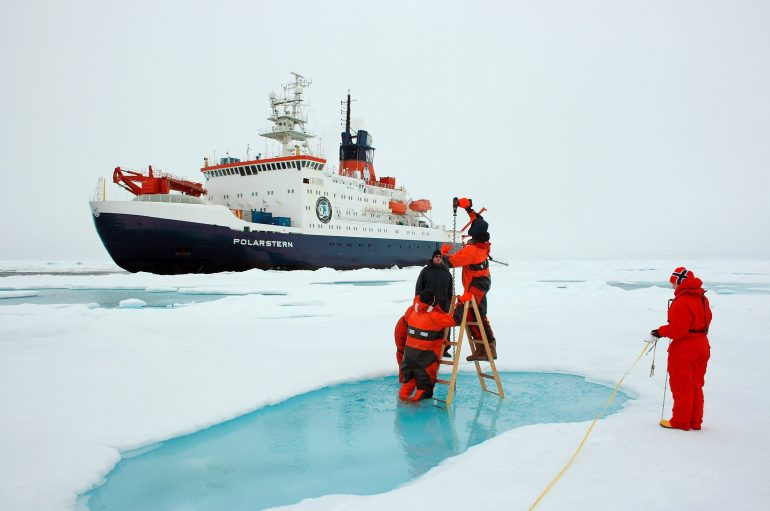 Explotación petrolera en el Ártico
