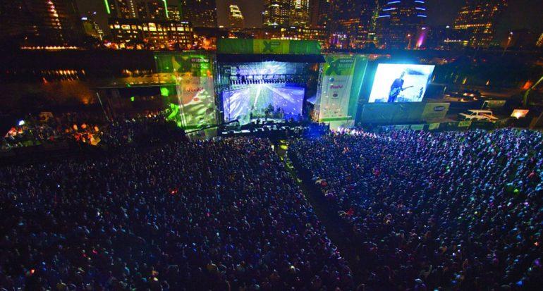 Festival de música y arte en Texas