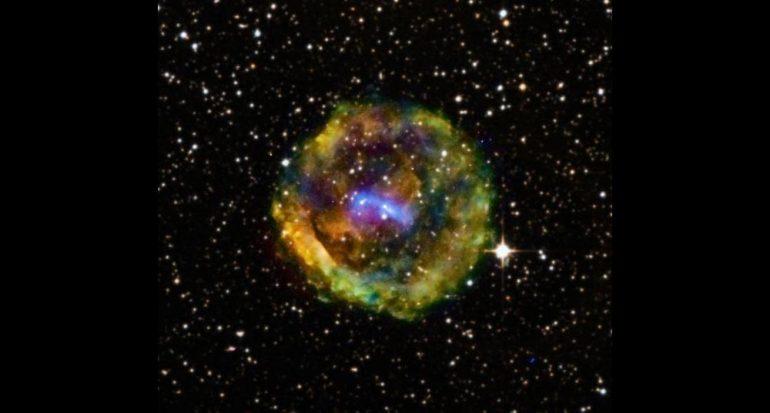 Fotogalería: Los restos deslumbrantes de una supernova