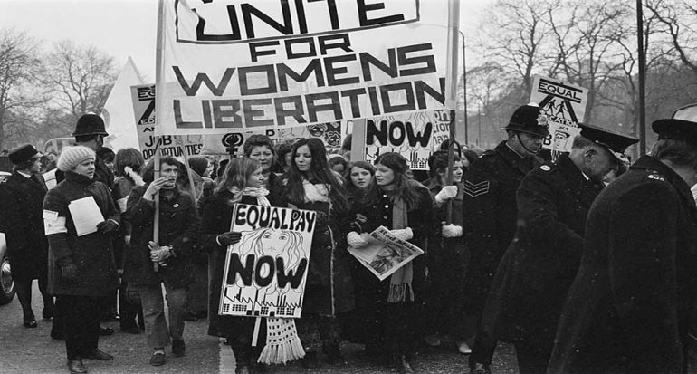 Fotogalería | Marchas feministas a través de los años
