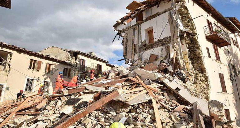 Fotogalería: Terremoto en Italia