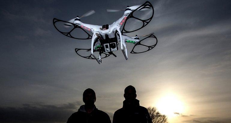 Fotografías con drones