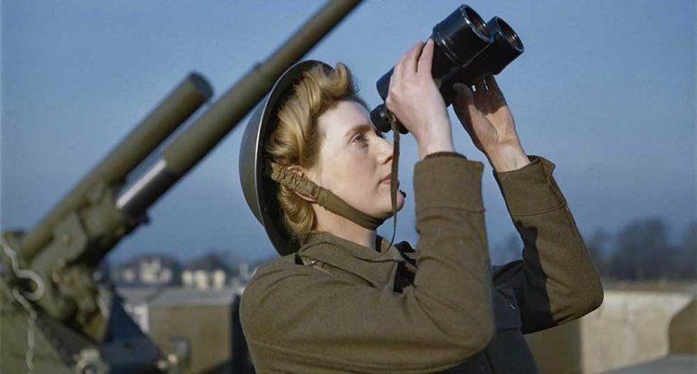 Fotografías inéditas a color de la Segunda Guerra Mundial