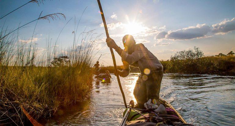 Fotografías que revelan el peligro del mayor humedal de África