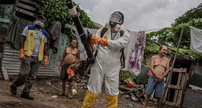 Fotos capturan la lucha cotidiana contra el mosquito del Zika