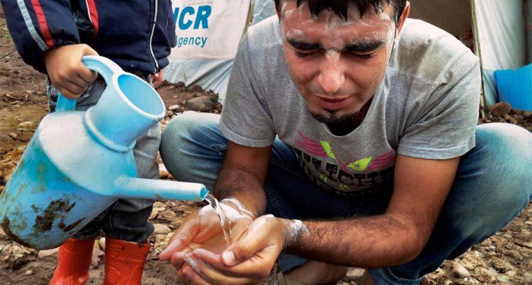 Fotos tomadas por niños sirios refugiados