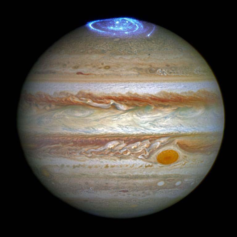 Galería: La aurora de Júpiter