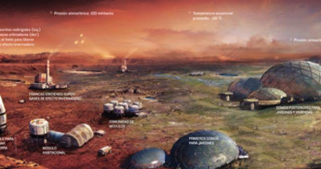 Haciendo de Marte la nueva Tierra