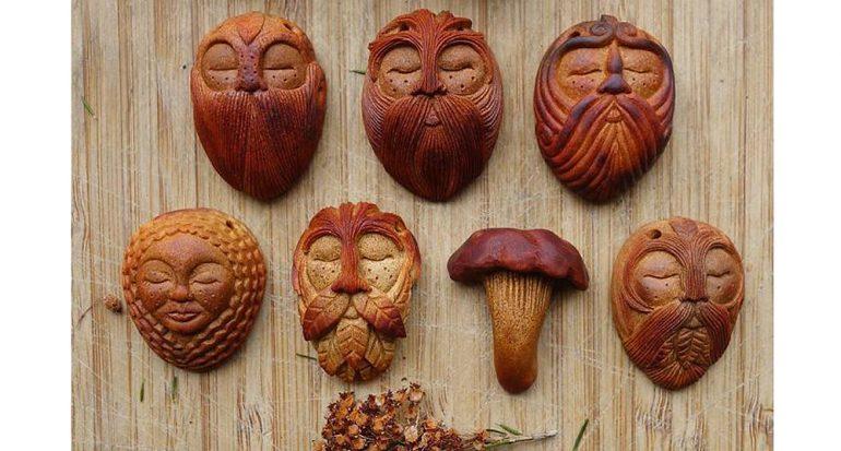 Hermosas obras de arte creadas con la semilla del aguacate