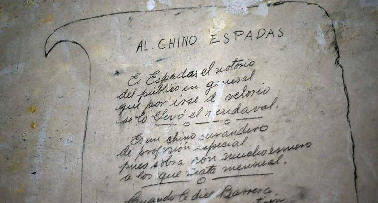Historia en grafitis