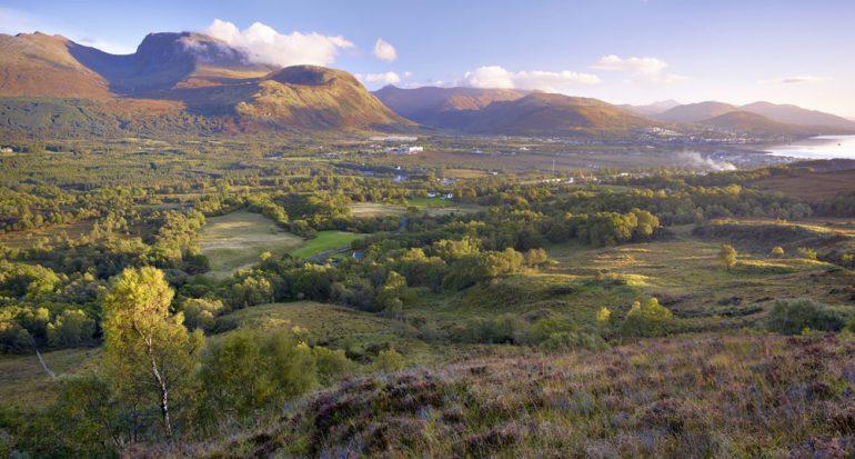 Homenaje a las montañas escocesas