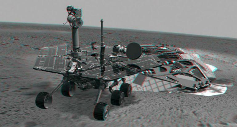 Imágenes de la NASA en 3D