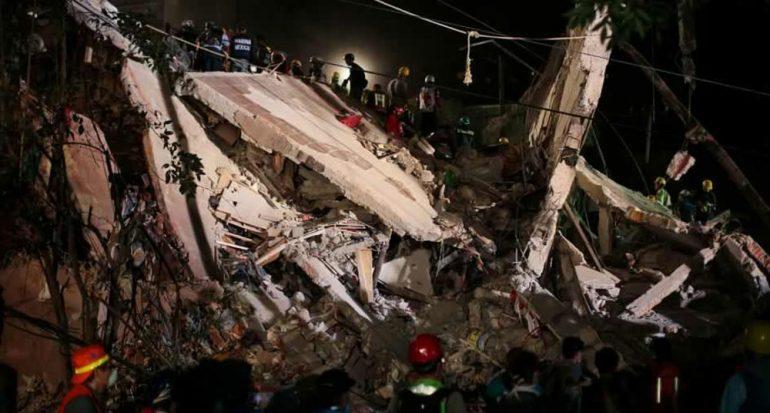 Imágenes del devastador terremoto en la Ciudad de México