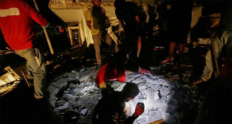 La tragedia en Ecuador