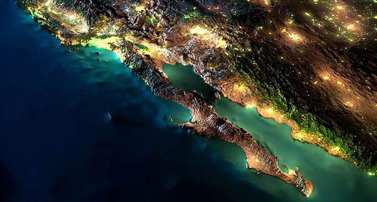 Impactantes imágenes de México desde el espacio