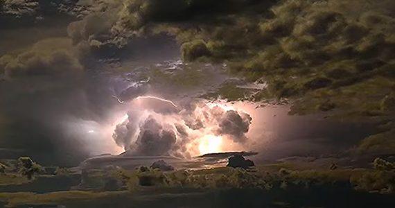 Impresionante video de una tormenta eléctrica en Australia