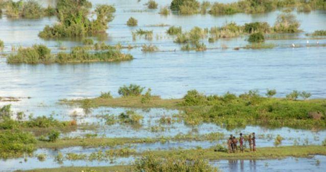 Inundación épica en Mozambique