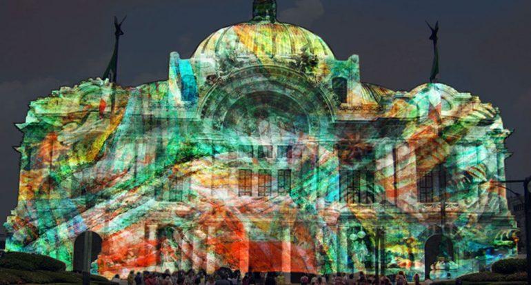 La Ciudad de México se ilumina