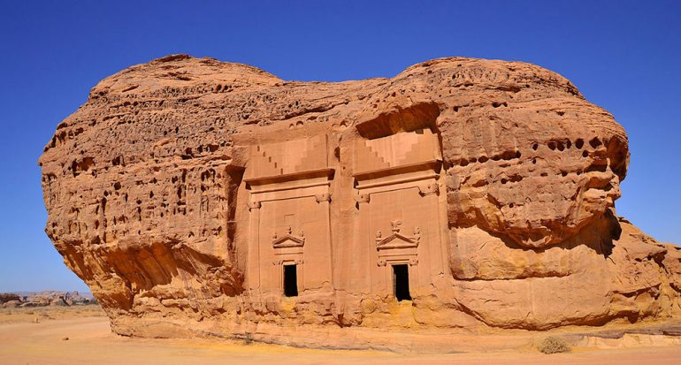 La Petra de Arabia Saudita