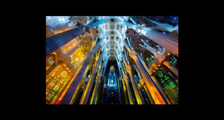 La Sagrada Familia retratada por los lectores de National Geographic