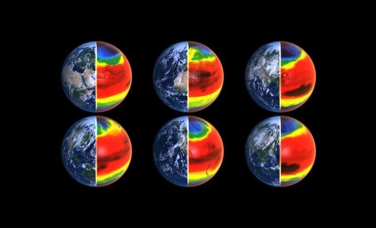 La Tierra se calienta