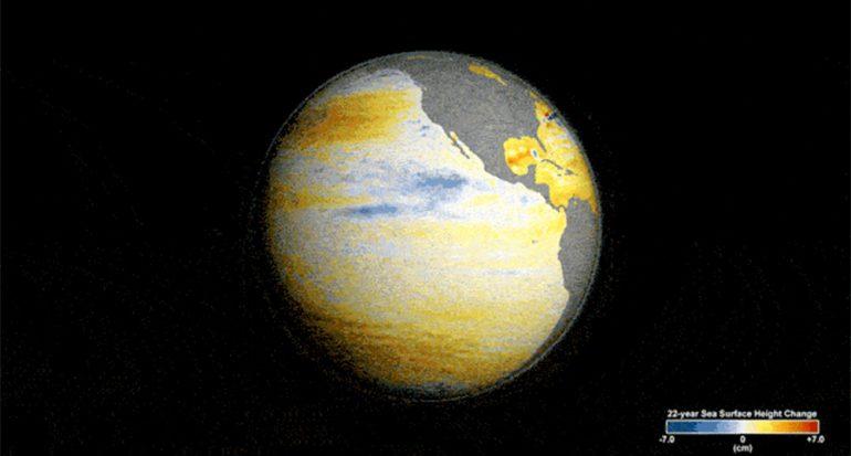 La alerta de la NASA por el nivel del mar