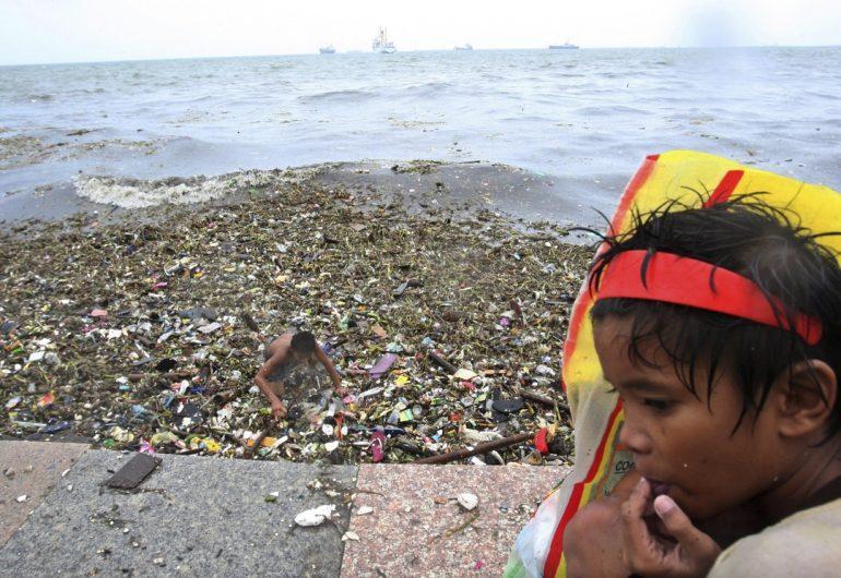 La basura en los oceános