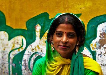 La belleza de la mujer india
