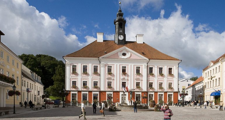 La ciudad universitaria de Tartu