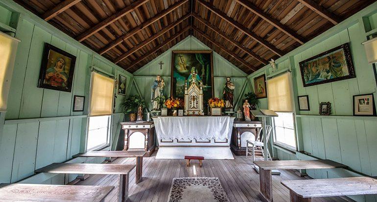 La iglesia católica más pequeña del mundo