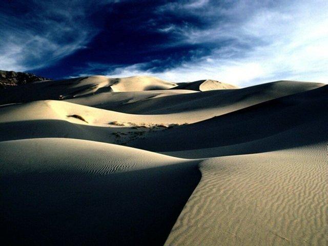 La música del desierto