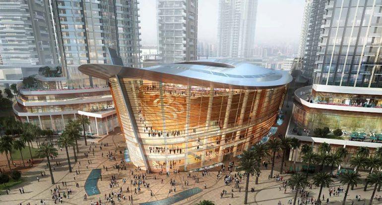 La nueva Ópera de Dubái
